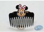 Mode et beauté, Mickey Mouse : Peigne noir tête de Minnie de face, Disney