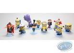 Figurine plastique, Moi, Moche et Méchant : Ensemble de 11 figurines Moi, moche et méchant