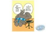 Carte postale, Chat (Le) : Téléphone à la plage