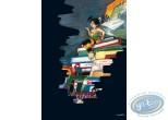 Affiche Offset, Peter Pan : Clochette et les livres