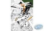 Affiche Offset, Peter Pan : Clochette hommage à Uderzo