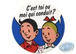 Ex-libris Offset, Bob et Bobette : C'est toi ou moi...'