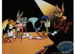 Affiche Offset, Looney Tunes (Les) : Le tournage 40X30 cm