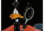 Affiche Offset, Daffy Duck : La partie de tennis 80X60 cm