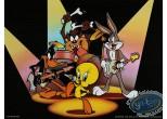 Affiche Offset, Looney Tunes (Les) : Le concert 40X30 cm