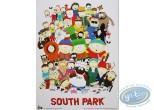 Affiche Offset, South Park : Photo de famille 30X40 cm