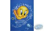 Affiche Offset, Titi : Titi poissons 30X40 cm