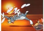 Affiche Offset, Tom et Jerry : Le gâteau d'anniversaire 40X30 cm