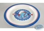 Art de la Table, Schtroumpfs (Les) : Assiette en mélamine - Schtroumpf marin
