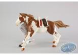 Figurine plastique,  : Cheval d'indien