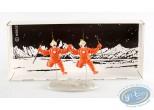Figurine métal, Tintin : Objectif lune - Dupont et Dupond, Pixi