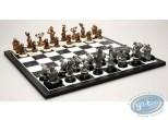 Figurine métal, Pacush Blues - Les rats : Mini jeu d'échecs, Pixi
