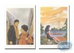 Ex-libris Offset, Quelques Jours Ensemble : Quelques Jours Ensemble - Fille au bord de l'eau