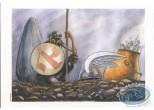 Ex-libris Offset, Astérix : Douay, Hommage à Astérix