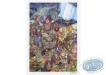Ex-libris Offset, Percevan : La fête