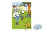Ex-libris Offset, Lucien : Papy foot