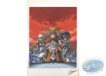 Ex-libris Offset, Légendaires (Les) : Quatuor