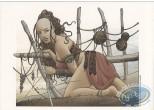 Ex-libris Offset, Nomade : Femme pêcheur