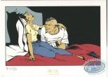 Ex-libris Sérigraphie, Enragés (Les) : Sur le lit