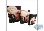 Fourniture bureau, Marilyn Monroe : Set de 3 livres gigogne Marilyn Monroe
