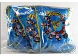 Figurine plastique, Lapins Crétins (Les) : Assortiment de 7 figurines Les Lapins Crétins à travers le monde