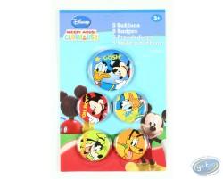 5 badges de Mickey et ses amis, Disney