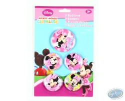 5 badges de Minnie, Disney