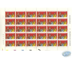 Planche de 30 timbres, Sammy