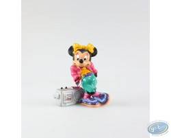 Minnie avec sa radio, Disney