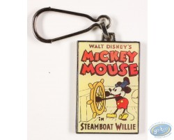Mickey Mouse in Steamboat Willie, Disney