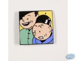 Tintin et Tchang