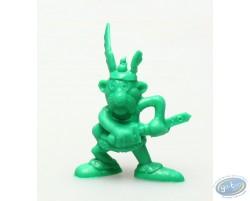 Mini Astérix dégainant (vert foncé)