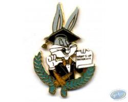 Bugs Bunny diplômé