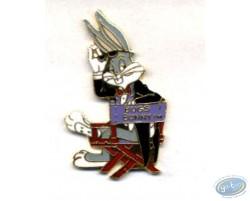 Bug Bunny sur sa chaise