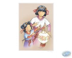 Yoko et Rosée au Lampion