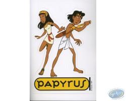 Sticker autocollant Papyrus
