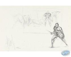 Gladiateurs (croquis)