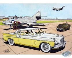 Studebaker 57 jaune