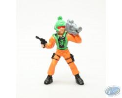 Personnage orange avec camera