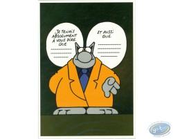 Le Chat tient à vous dire...