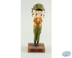Betty Boop Militaire