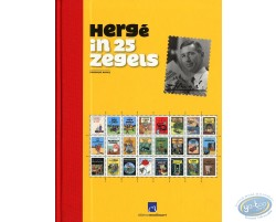 Hergé in 25 zegels