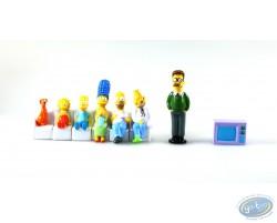 Série de 8 personnages Simpson