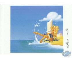 Atalante au bord de la mer