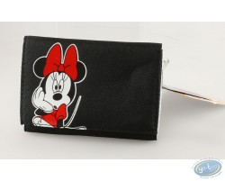 Portefeuille Minnie noir
