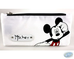 Trousse rectangulaire Mickey blanche