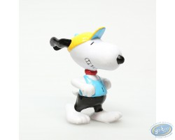 Snoopy jogging