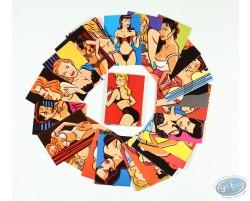 Cartes de 40 très jolies filles de Walter Minus - Série spéciale (Edition limitée)