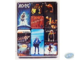 Set de mini magnets, AC/DC