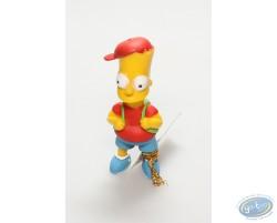 Bart Simpson et son cartable